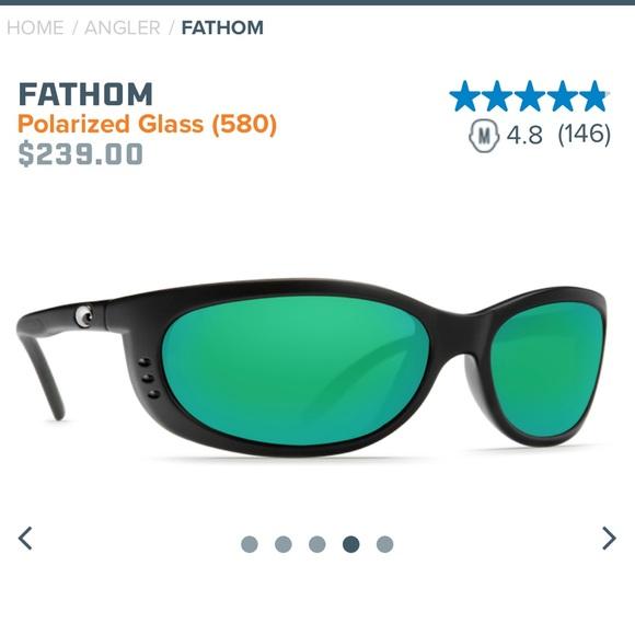 293df86b2c98a Costa Other - Costa Del Mar Fathom Polarized sunglasses 580G